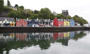 Wouldn't you like to go… :the brightly coloured quayside of Tobermory on the island of Mull.