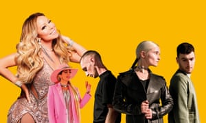 Mariah Carey, Lady Gaga and Clean Bandit