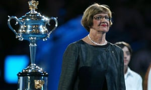 Australian tennis great Margaret Court
