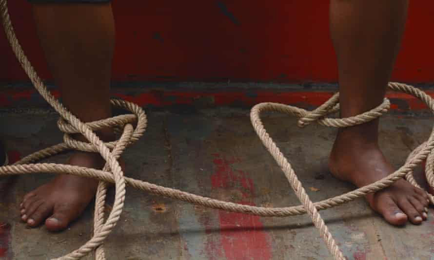 a still from buoyancy (film)