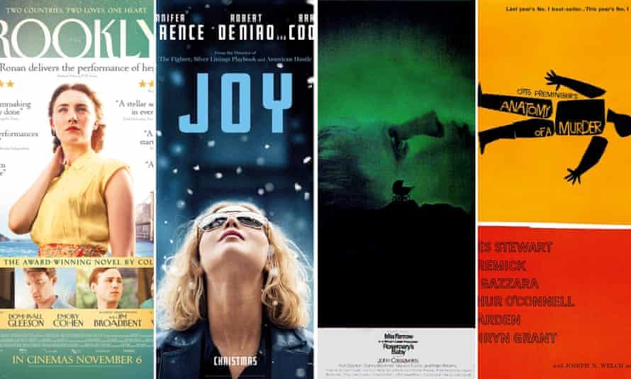 Good, bad and ugly … Brooklyn, Joy, Rosemary's Baby, Anatomy of a Murder