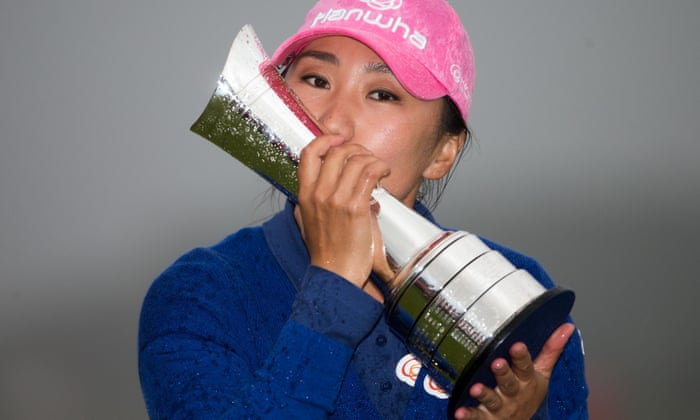 Image result for I K Kim with British Open Trophy