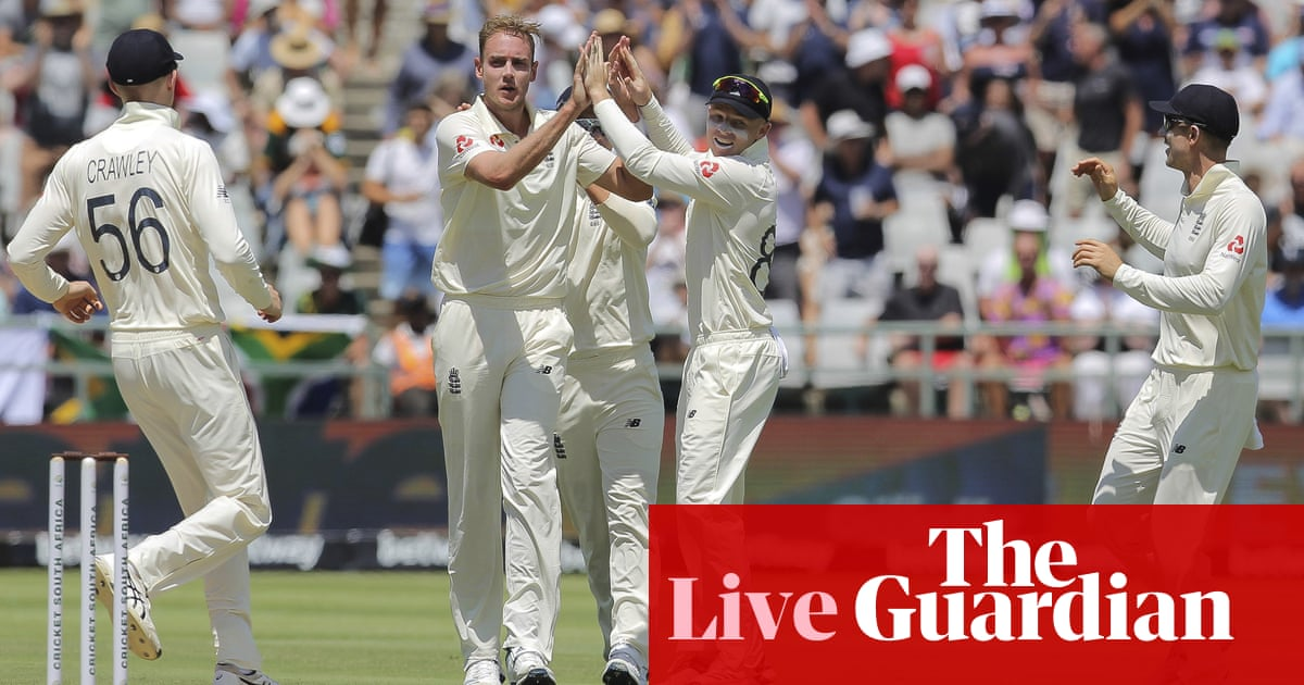 South Africa v England: second Test, day two –live!