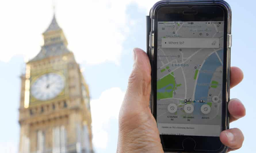 London will be the first British city added by Uber to its online tool that compares journey times.