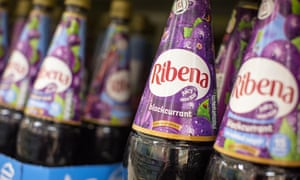 Ribena … it tastes weird but it's for your own good.