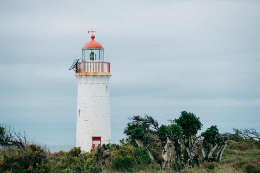Port Fairy Lighthouse on Griffiths Island.