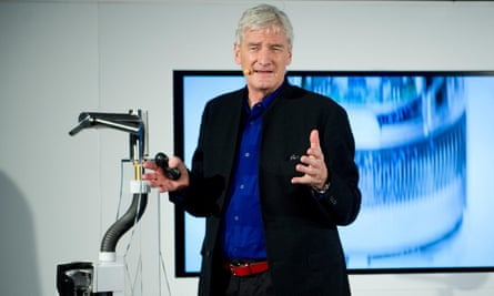 British entrepreneur and inventor Sir James Dyson, founder and co-owner of Dyson.