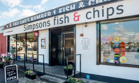 Simpsons Fish and Chips in Cheltenham.