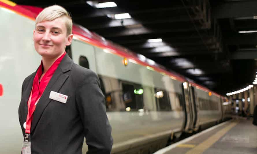 Tammy Moreton is one of the ex-offenders now employed by Virgin Trains.