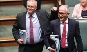 Treasurer Scott Morrison has denied he is canvassing a run as a compromise candidate in the event of a second leadership spill.