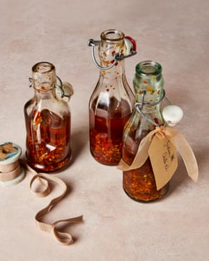 Show some bottle: Yotam Ottolenghi's festive chilli oil.