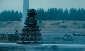 The Brexit Dalek makes short work of the British military.