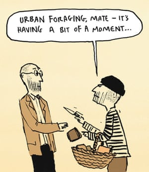 Berger & Wyse on foraging – cartoon