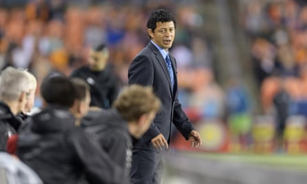Houston Dynamo's Wilmer Cabrera is one of just five non-white coaches in MLS.