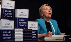 Shocking notices … Hillary Clinton kicks off her book tour with a signing at the Barnes & Noble in New York.