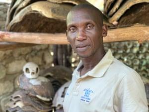 Sea turtle saviour Sammy Safari