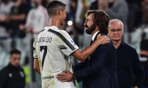 Il Maestro Andrea Pirlo Delivers First Lesson Of Thesis At Juventus Nicky Bandini Football The Guardian