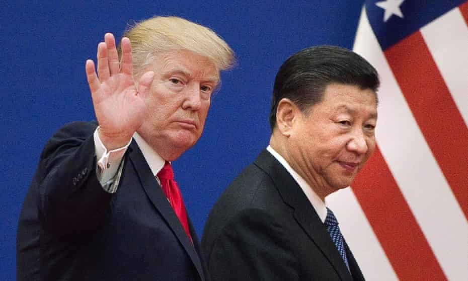 US President Donald Trump and China's President Xi Jinping.