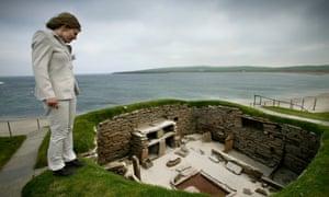 Skara Brae is the best-preserved stone age dwelling complex in western Europe.