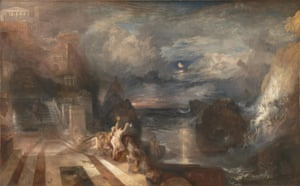 The Parting of Hero and Leander, before 1837. Found in the collection of the National Gallery, London. (Photo by Fine Art Images/Heritage Images/Getty Images)
