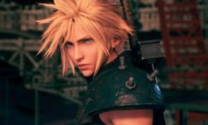 Never nebulous … Cloud Strife in Final Fantasy VII Remake.