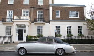 A Rolls-Royce in central London