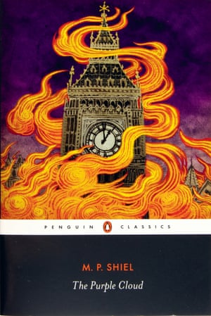 MP Shiel, The Purple Cloud, Penguin Classics covers