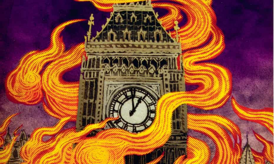 A detail from the cover of MP Shiel's The Purple Cloud.