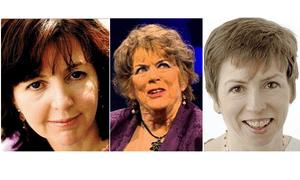 Dorothy Byrne, Ann Leslie and Fran Unsworth.