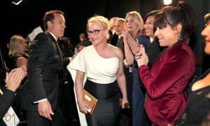 Patricia Arquette, winner of the award for best actress in a supporting role for Boyhood