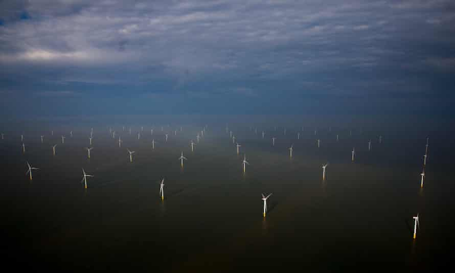The London Array offshore windfarm