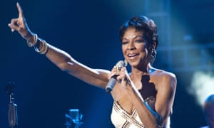 Natalie Cole performing in Moscow in 2011.