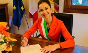 Antonella Argenti, mayor of Villa del Conte in the Veneto region.