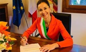 Antonella Argenti, mayor of Villa del Conte in the Veneto region.