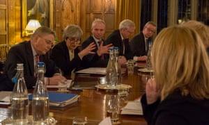 Theresa May Chequers awayday