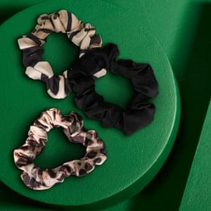 Tutti & Co Jasper Patterned Scrunchies