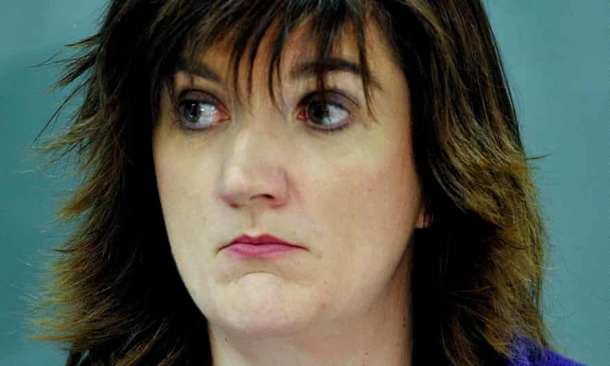 Nicky Morgan is minister for women and equalities as well as secretary of state for education.