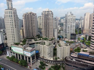 Guiyang city centre