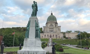 Saint Joseph's Oratory of Mount Royal in Montreal. Quebec is struggling to balance its Catholic past with its secular present.