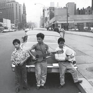 Future jazz musicians, Greenwich Village.