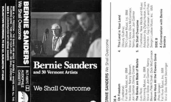 Bernie Sanders: We Shall Overcome tape cover