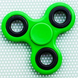 "New ""fidget"" toy, popular with kids, helps them to concentrate."