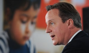 David Cameron delivers a speech at the NSPCC headquarters in July 2013