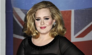 Adele in 2012. Hopefully, she has got over her tax woes. Or has got a new accountant.