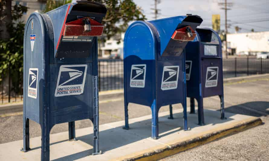'The postal service has long been a target for Republicans, in part because a successful USPS is a threat to Republican ideology.'