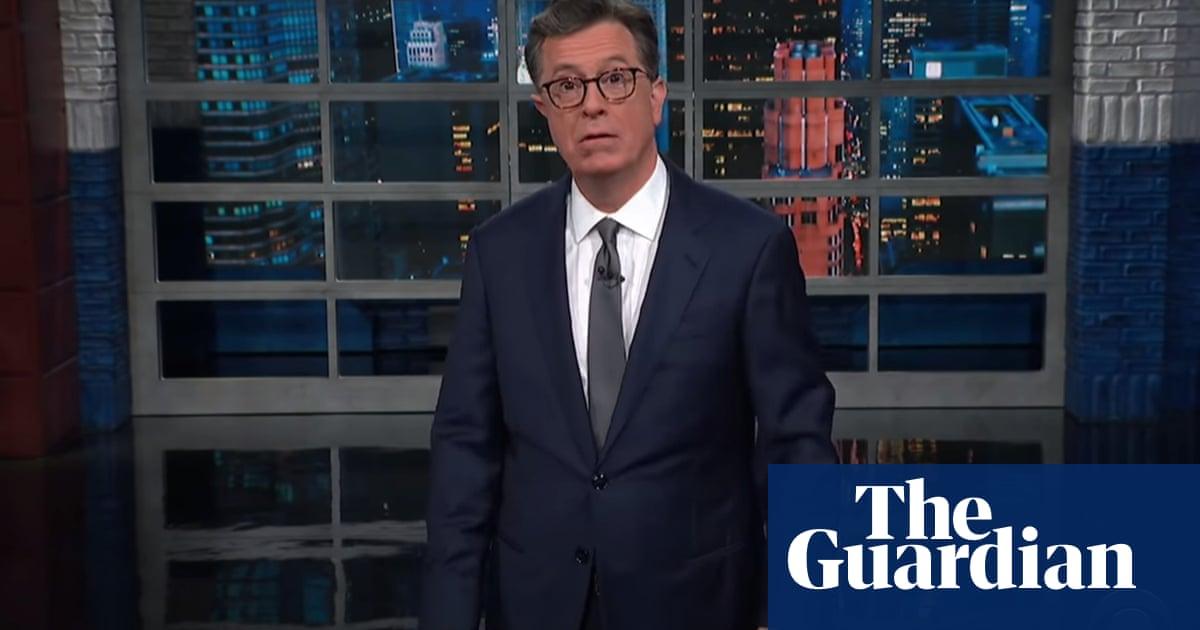 Stephen Colbert mocks 'poorly handled regime change' at Jeopardy!