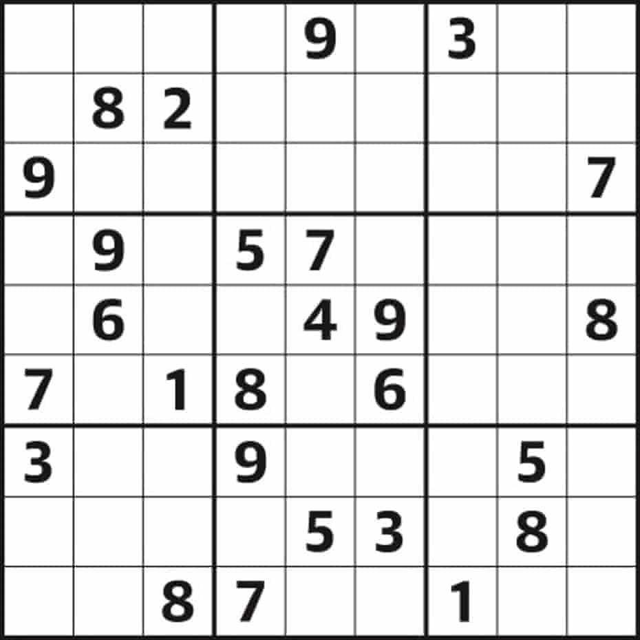 Sudoku 5,358 hard