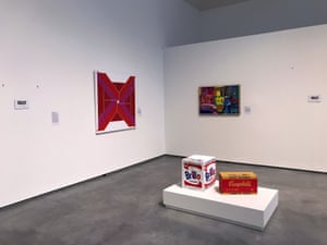 Some of the remaining artworks, including pieces by Andy Warhol, born in Pittsburgh