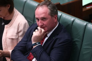 The deputy PM, Barnaby Joyce, and his pedometer.