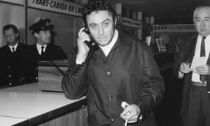 Hot ticket: Lenny Bruce in 1963.